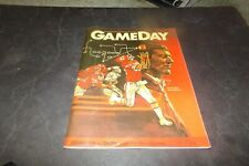 Vintage Game Day Magazine Dallas Cowboys vs Kansas City Chiefs Cheerleaders 1983