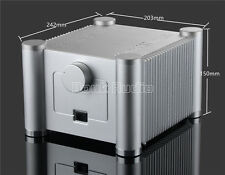Zweilagig Quadratischen Aluminium Chassis Verstärker Gehäuse Amplifier DIY Case
