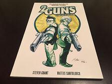 2 GUNS TRADE PAPERBACK TPB STEVEN GRANT DENZEL WASHINGTON MARK WHALBERG MOVIE