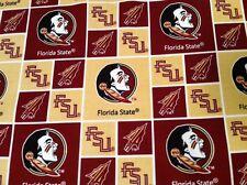 NCAA Florida State University Seminoles Bandana Handmade