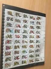USA Flowers and birds of the states complete mnh sheet of stamps