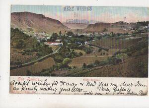 Las Palmas Monte Barranco Spain 1907 Postcard 680b