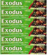 BIMEDA Pyrantel Paste Horse 23.6g wormer Equine Parasite Exodus (Pamoate Strongi