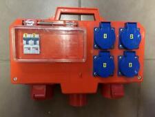 neuer Baustromverteiler 16 A 400/230 Volt