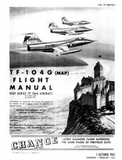 AIRCRAFT USA - TF104G Starfighter 1964 (eng) (TO1F104TG1) Flight Manual - DVD