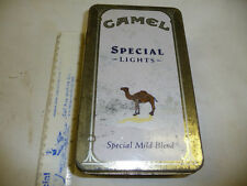 CAMEL CIGARETTE LIGHTER COLLECTORS CASH CATALOG SPECIAL LIGHTS TIN W MATCHES NIB