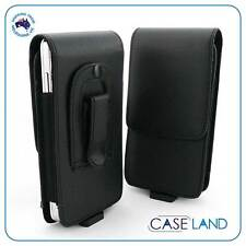 """B1 - LEATHER BELT CLIP CASE COVER HOLSTER FOR ALCATEL PIXI 3 (4.5"""")"""