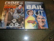 2 Dvds Bail Out & Crime Boss Movie Film New Action
