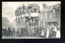 Lincolnshire LINCOLN Opening of Electric Tram  PPC
