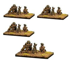"""Forged in Battle British 3"""" Mortar platoon 1944 15mm 1/100 Flames of War"""
