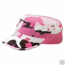 New, fashion, pink camo,,  army,cadet style cap/hat