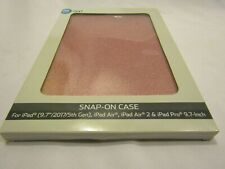 IPad Snap-on Case Glitter Pink 9.7in. Brand New