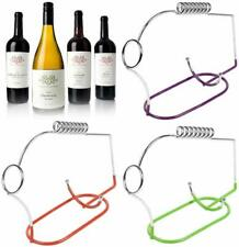 Wine Bottle Holder Pouring Illusion Floating For Picnics and Garden Dining Drink