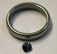 NATURAL BLUE SAPPHIRE LOOSE GEMSTONE 4MM ROUND 0.3CT FACETED GEM SA59