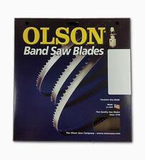 """Olson WB56382DB Band Saw Blade 82"""" Long x  1/4"""" Wide .020 Thick 6 TPI"""