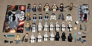 LEGO STAR WARS MINIFIGURE LOT OF 31 MINI FIGURES BOBA FETT CLONE TROOPERS R2-D2!