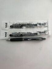 Uni-ball Signo UMN-207 Micro 0.5mm Retractable Gel pen BLACK x 1 pen + 2 refills