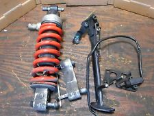 1999 TRIUMPH SPRINT ST 955i 955 REAR SHOCK LINKAGE AND KICK STAND W/ SWITCH