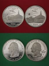 Silver & Clad 2006 S Nebraska Proof Deep Cameo State Quarters Flat Rate Shipping