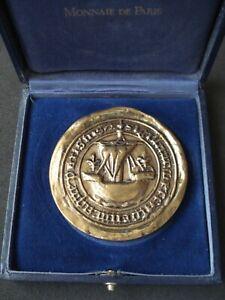 Monneaie de Paris, 1998 Football World Cup Program International Launch, plaque