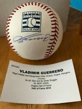 Vlad Vladimir Guerrero Signed MLB Hall of Fame Baseball - Tristar COA - HOF 2018