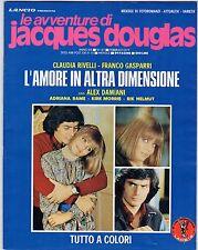 fotoromanzo LE AVVENTURE DI JACQUES DOUGLAS ANNO 1977 NUMERO 137 DAMIANI MORRIS
