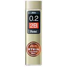 Pentel Ain Stein Mechanical Pencil Lead 0.2mm 2B 20 Leads C272W-2B