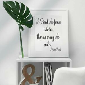 African Proverb A4 Poster Picture Quote Wall Art Home Decor