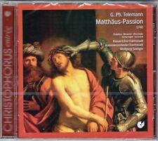TELEMANN St Matthew Matthäus-Passion 1746 WOLFGANG SEELIGER Hans Peter Blochwitz