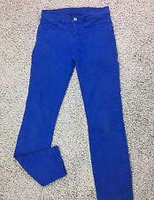 J BRAND Womens Size 26 Jeans Royal Blue Skinny