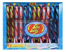 JELLY BELLY 12pc Gourmet CANDY CANES 6oz Box WATERMELON+TUTTI+BERRY Exp. 8/18+