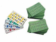 Juegos de mesa cartas de bingo