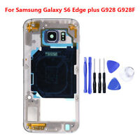 For Samsung Galaxy S6 Edge / Plus Mid Housing Bezel Middle Frame Assembly+ Tools