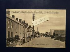 More details for postcard anglesey, the village, llanfair pwll early 1900's. real picture.