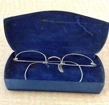 Antique Artcraft Eyeglass Frames 1 /10 12K GF with Case Vintage 1940's?