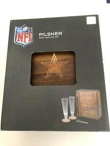 NFL Pilsner Beer Gift Set