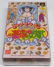 Gourmet Sentai Bara Yarou Gurume ORIGINAL Nintendo Super Famicom Japan * VGC ? *
