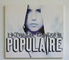 NATHALIE CARDONE : POPULAIRE ♦ PROMO MAXI-CD Single ♦ coll. MYLENE FARMER