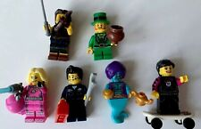 genuie lego minifigure the skater  from series 1 rare