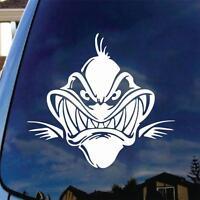 Fish Bones Face Vinyl Decal Car Sticker Boat Truck Fishing Bass Funny