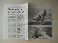 "Nick Nolte Autographed 8"" X 10"" Newspaper Clipping"