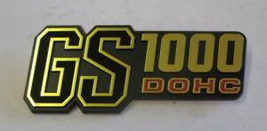 Fits Suzuki GS1000 DOHC genuine panel lateral Placa