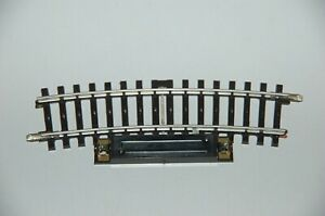 Märklin H0 2139 Schaltgleis gebogen 15° Hohlprofil K-Gleis Top Zustand