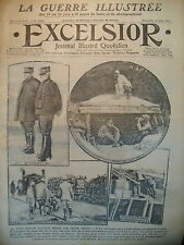 WW1 N° 2042 VICTOIRES RUSSES Gal BROUSSILLOF COSAQUES JOURNAL EXCELSIOR 1916