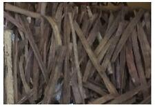 10 Streifen Seemandelbaumrinde (50Gramm) Terrarium Deko Catappa Leaves ä. Wurzel