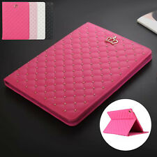 Case For iPad 10.2 7th 9.7 Air 10.5 Mini Luxury Smart Leather Flip Stand Cover