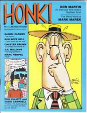 Honk! #1 - 1986 - Don Martin 10 page interview - Chester Brown, Eddie Campbell