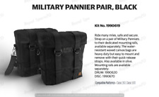 Royal Enfield Military Pannier Pair Black For Classic 350 & Classic 500