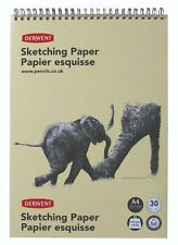 Derwent Sketching Paper Drawing Pad with 30 Sheets A4