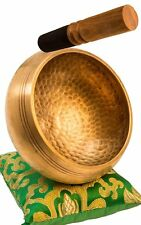 "4.5""Tibetan Buddhist Singing-Hand beaten singing bowl,Free Cushion and Striker"